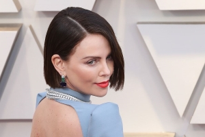 Charlize Theron Dyed Her Hair Brown Hours Before The Oscars