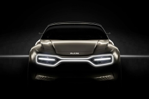 Kia's EV Concept for Geneva Has a New Kia Logo and Lights for a Grille