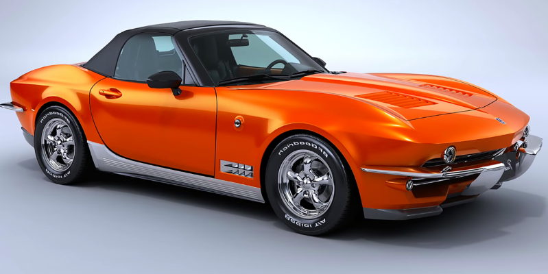 Enthusiasts: The Japan-Only Corvette Stingray-Bodied Mazda