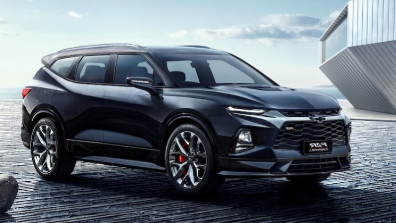New Blazer SUV Inspires 2020 Chevy Trax >> Reviews Three Row Chevrolet Blazer Xl Reportedly In The Works