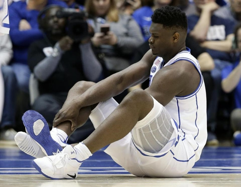 Zion Williamson is taking all the risk, with no reward