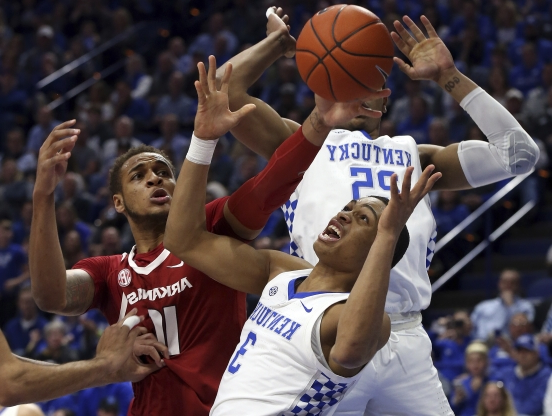 Sport: Herro's 29 points rally No  4 Kentucky past Arkansas