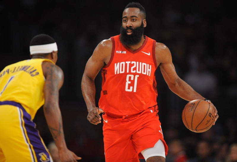 a23d9683c01 Sport  Why is it so hard to guard James Harden  - PressFrom - US