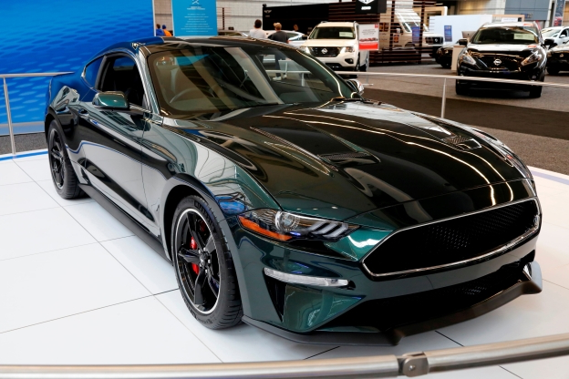 Cars: Bullitt Mustang: Ford's filthy hot rod - PressFrom