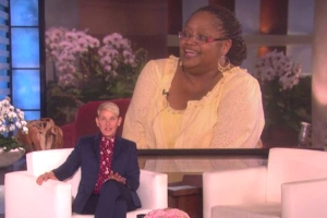 Ellen pays tribute to longtime fan who died of breast cancer
