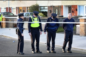 Man arrested after woman in her 40s killed in suspected stabbing at Dublin house