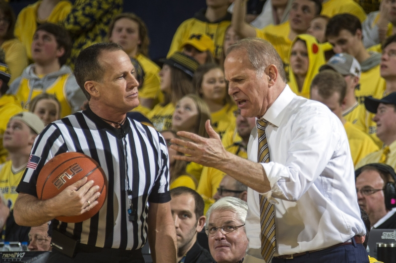 Michigan's John Beilein had a meltdown in the middle of Jim Harbaugh's interview