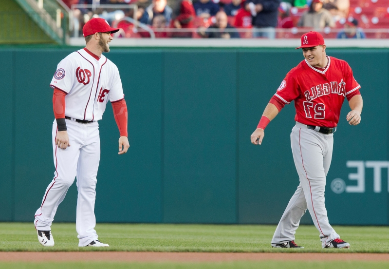 Report: Phillies saving up for Mike Trout's free agency despite splurge on Bryce Harper