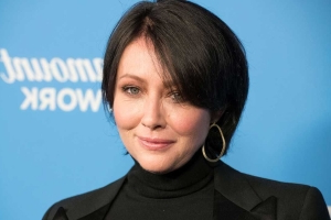 Shannen Doherty Emotionally Shares She's Been in Touch with Luke Perry Since His Stroke (Exclusive)