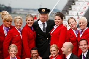 Virgin Atlantic's female flight attendants are no longer required to wear makeup