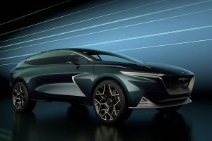 Aston Martin's Latest Lagonda All-Terrain Concept Previews a Production SUV