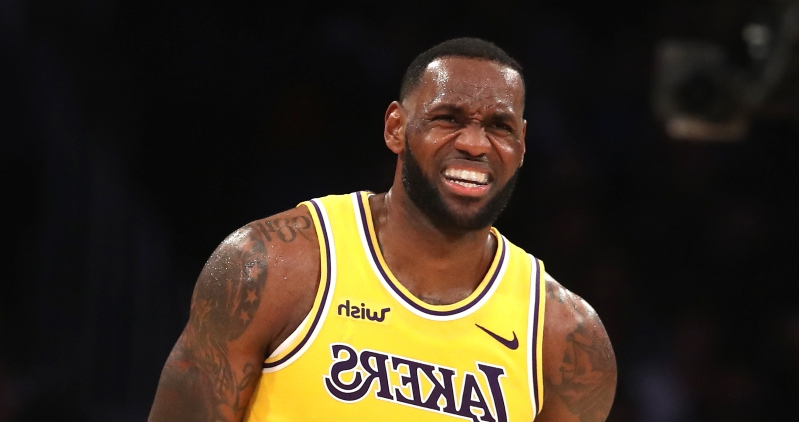 It sure looks like Kyle Kuzma pushed LeBron on defense to cover for his own mistake