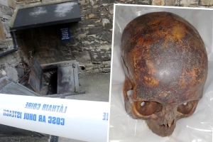 Stolen skull from decapitated mummy 'The Crusader' is recovered by gardai