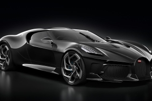 The $12.5 Million Bugatti La Voiture Noire Is the World's Most Expensive New Car