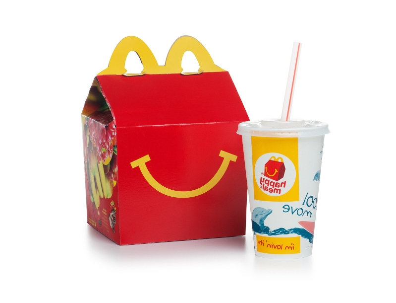 Food: Boy Finds Metal Blade in McDonald's Happy Meal and