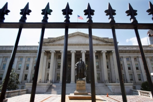 Federal deficit balloons 77 percent in first third of the fiscal year