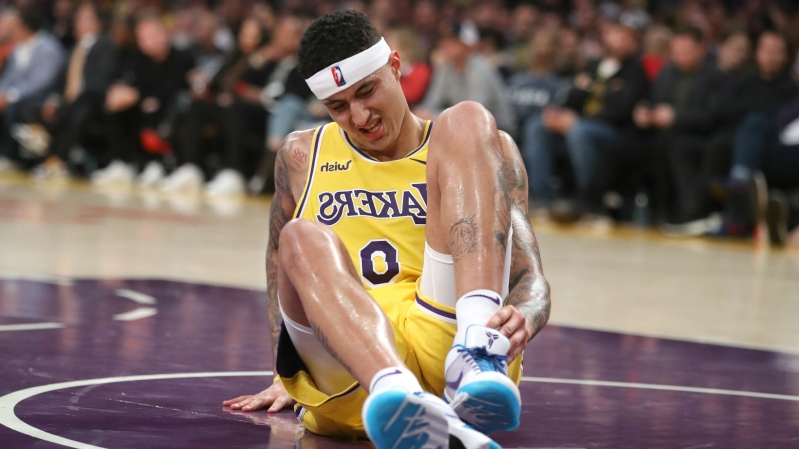 11fe33b1d2f Sport  Kyle Kuzma injury update  Lakers forward (ankle) out for up ...