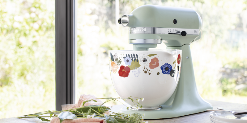 These New KitchenAid Stand Mixer Bowls Are About To Be THE Cooking Accessory Of Spring