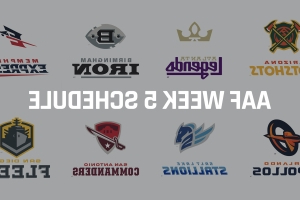 AAF Week 5 schedule: Odds, lines, predictions as Apollos vs. Iron headlines lineup
