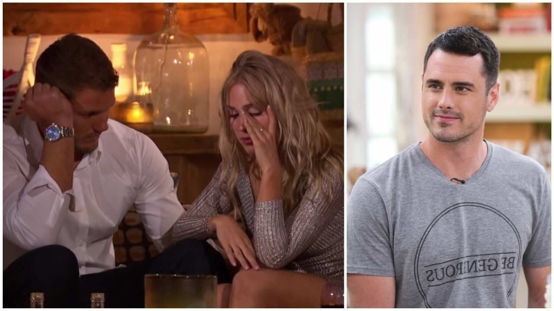 'Bachelor' Ben Higgins Calls Cassie Randolph Out Over Her Breakup With Colton Underwood (Exclusive)