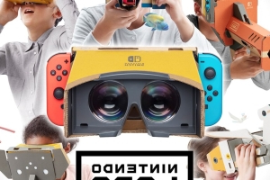 Nintendo just announced a Labo VR kit for the Switch