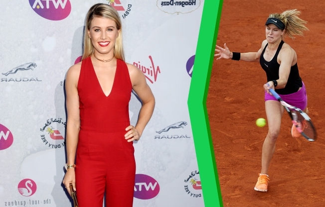 Sport: Report: Genie Bouchard's Super Bowl Date Bet to Be