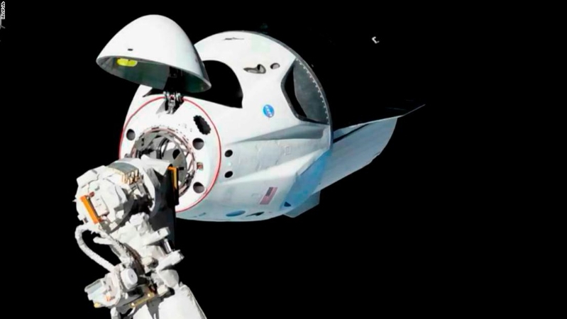 Technology: SpaceX Crew Dragon capsule, built to carry ...