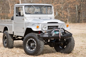 Restomod FJ45 Pickup Is The Model That Made Toyota
