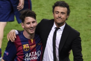 Barça - Luis Enrique compare Messi à Matrix