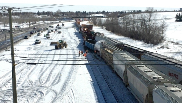 Canada: 2 Canadian Pacific trains involved in derailment in