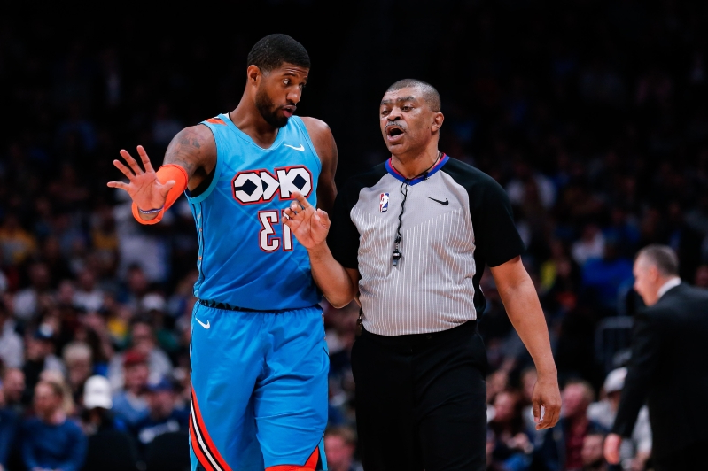 847bac4ee8f4 Sport  Paul George fined  25K for criticism of officials - PressFrom ...