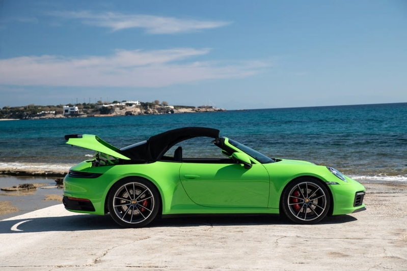 2020 Porsche 911 S/4S Cabriolet First Drive: Vitamins and Exercise