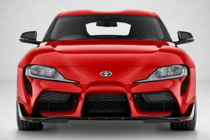 Here's Where You're Expected to Put the Front Plate on a 2020 Toyota Supra