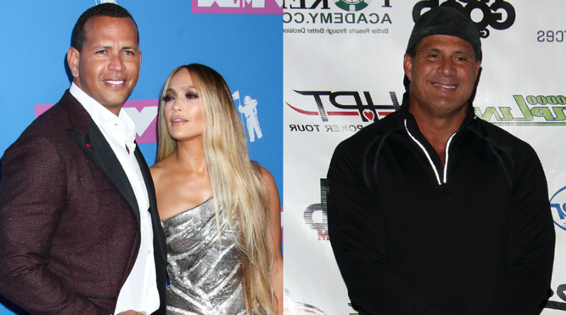 Jose Canseco Claims Alex Rodriguez Is Cheating On Jennifer Lopez With His Ex-Wife