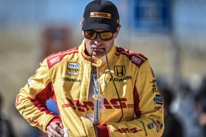 Ryan Hunter-Reay leads second practice at St. Petersburg