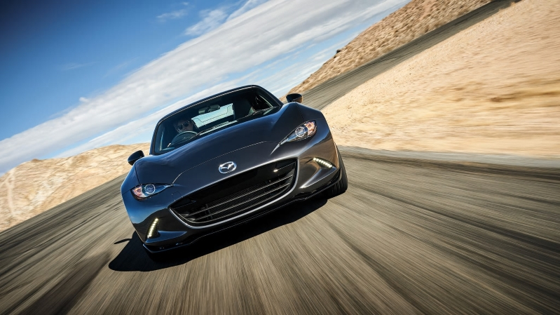 The 2019 Mazda MX-5 Miata RF Has a Little More Mean to Go with Its Lean
