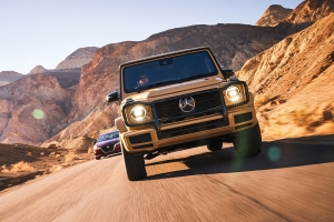 The Mercedes-Benz G550 Is a 2019 Automobile All-Star