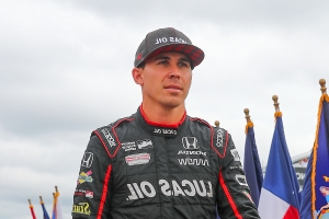 Wickens feted before IndyCar's season-opening race