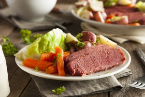 Why we eat corned beef and cabbage on St. Patrick's Day