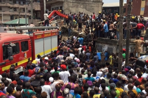 Building collapses in Lagos, many casualties feared
