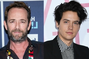 Entertainment: 90210 stars honoured Luke Perry with gathering at