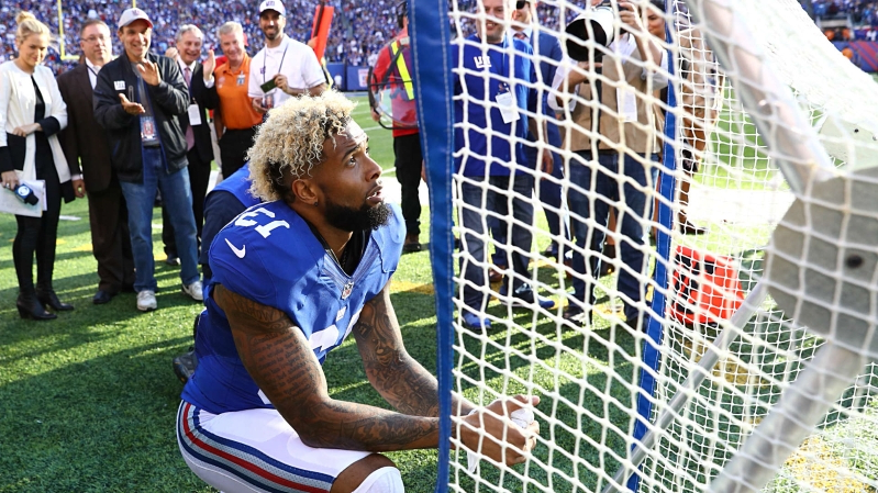 Giants reportedly viewed Odell Beckham Jr. as a 'pain in the a—' who would only get worse