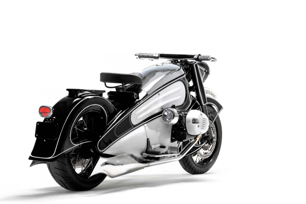 Nmoto Nostalgia: The Art Deco motorcycle you can buy today