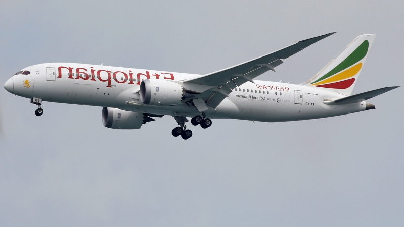 Scary footage shows oxygen masks dropping on Ethiopian Airlines flight headed for Dublin Airport