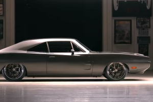 This Carbon-Body, Demon-Powered 1970 Dodge Charger Terrorizes Tires