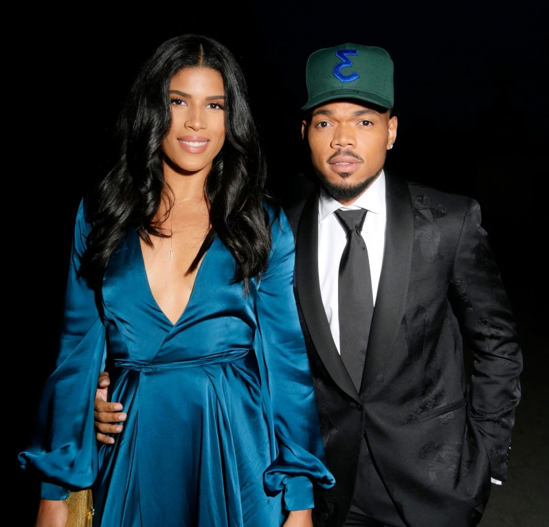 Chance the Rapper and wife announce they're expecting baby No. 2 days after wedding