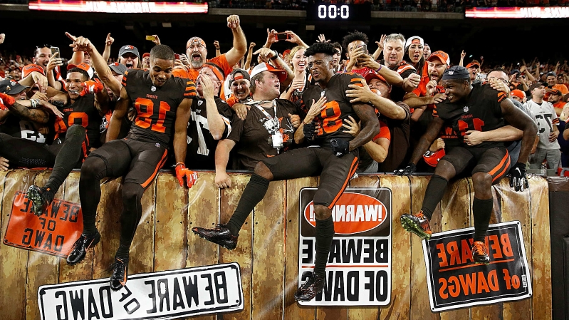 14efdd3c873 Cleveland Browns sports talk ready for 'happy revolution' after Odell  Beckham trade