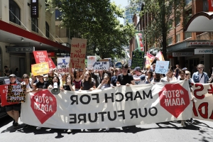 Climate change protest attendance encouraged by some Sydney schools