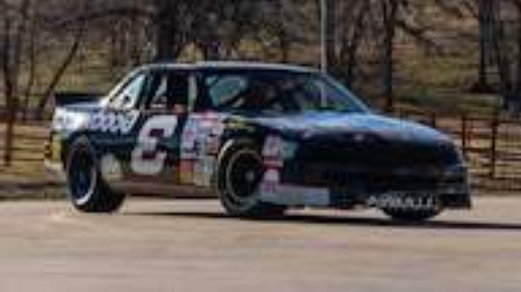 Dale Earnhardt, Dale Jr. race car collection to be auctioned this weekend