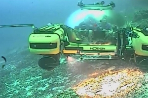 Historic Undersea Expedition Broadcast From Deep Below the Indian Ocean